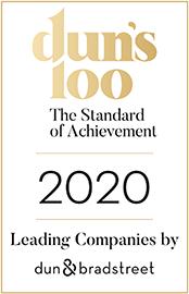 Dun's 100 ranking 2020